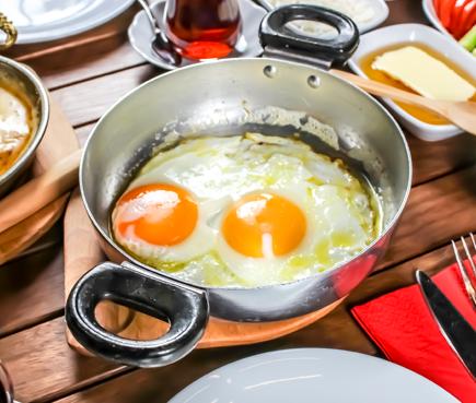 Sahanda Yumurta & Omlet Çeşitleri